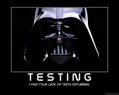 Тестирование. Дарт Вейдер